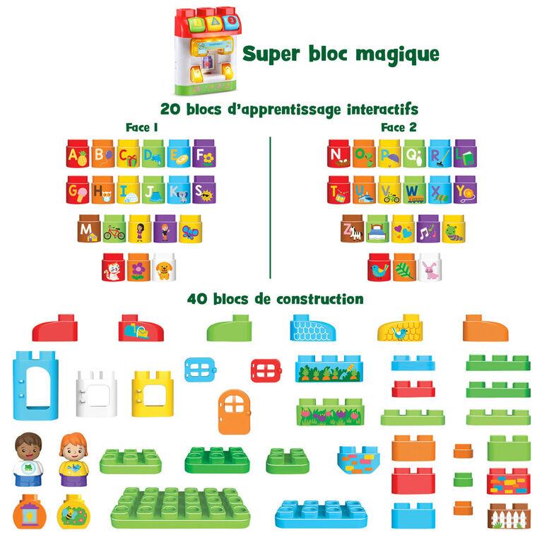 LeapFrog LeapBuilders Ma maison alphabet interactive - Édition française