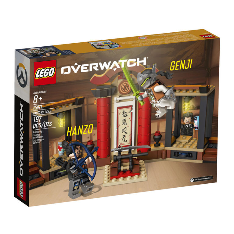 LEGO Overwatch Hanzo & Genji 75971