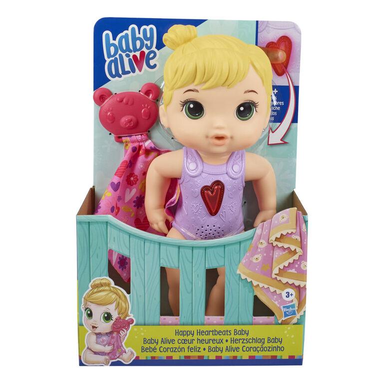Baby Alive, poupée Baby Alive coeur heureux