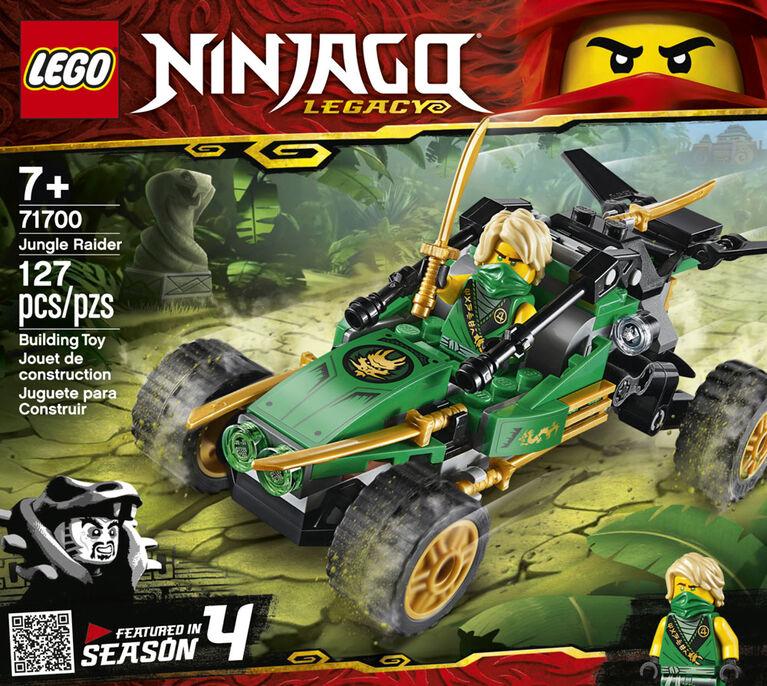 LEGO Ninjago Le buggy de la jungle 71700