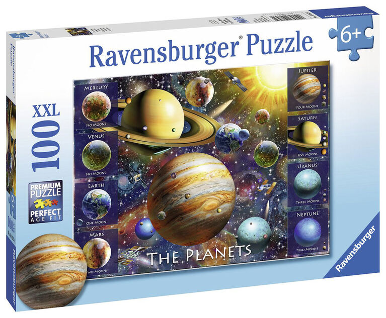 Ravensburger: Space - The Planets casse-tête (100pc)