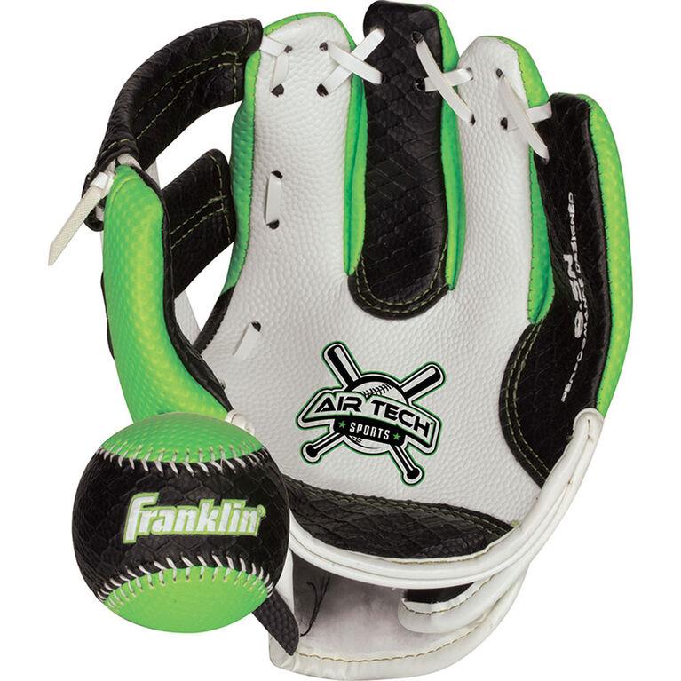 """85"""" Sport Air Tech Glove & Ball Set - Green"""
