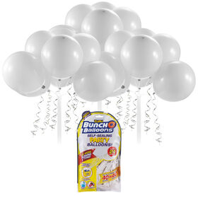 Bunch O Balloons 24 x 11 Inch Self-Sealing Latex Party Balloons - White