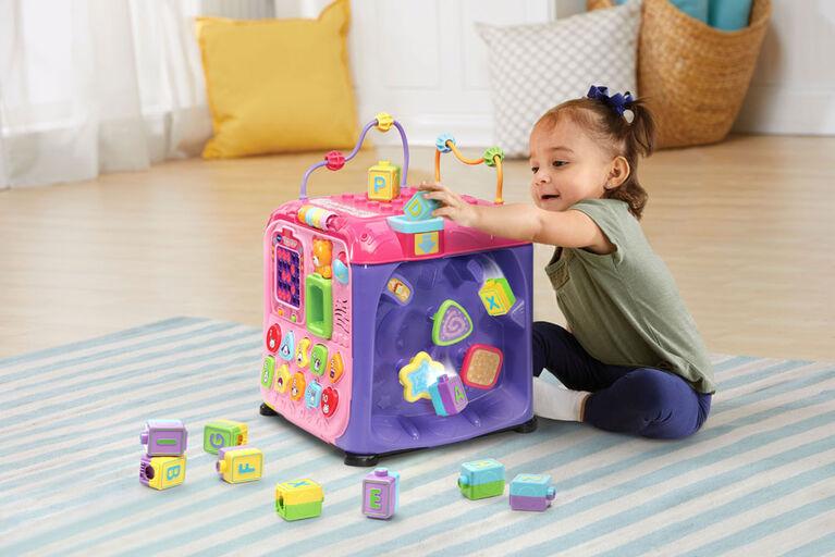 Maxi Cube Multi-Activités Rose - Édition Anglaise