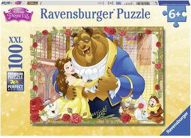 Ravensburger - Disney - Belle & Beast Puzzle 100pc