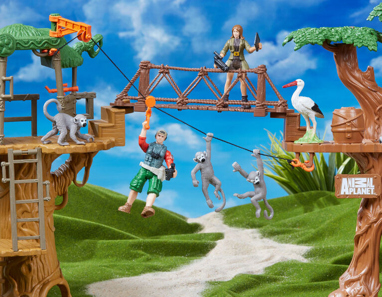 Animal Planet New Safari Treehouse Playset - R Exclusive