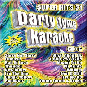 CD-Karaoke Super Hits 31