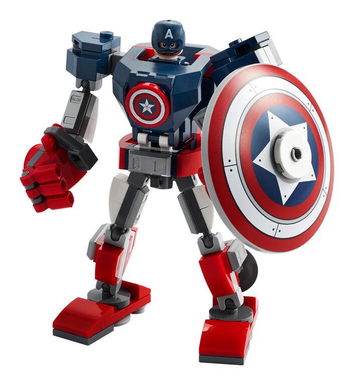 LEGO Super Heroes L'armure robot de Captain America 76168