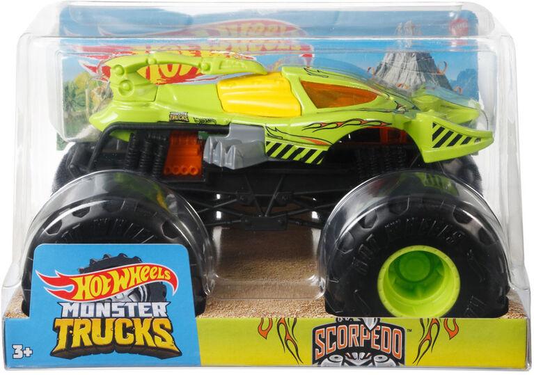 Hot Wheels Monster Trucks Scorpedo Vehicle