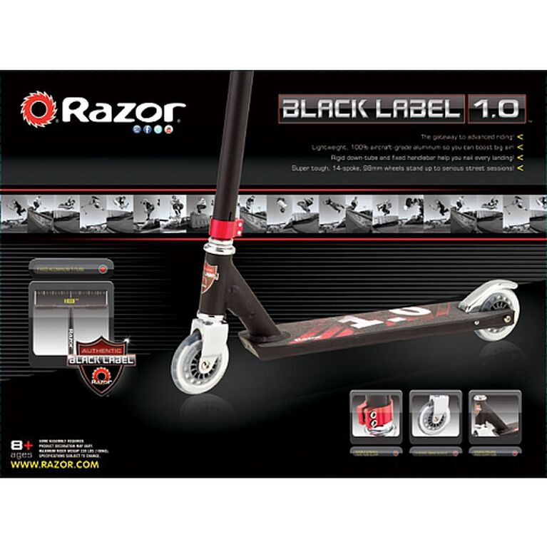 Razor - Black Label 10 Scooter - R Exclusive