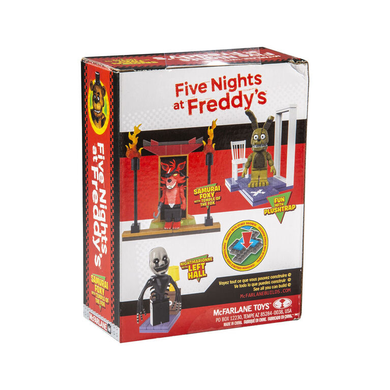 Five Nights at Freddy's  Micro Construction Set - Temple of the Fox
