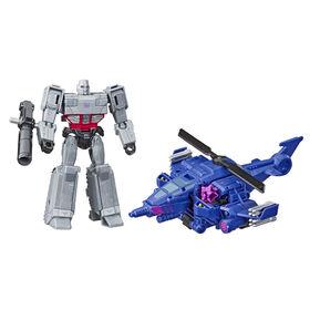 Transformers Cyberverse Spark Armor Megatron Action Figure.