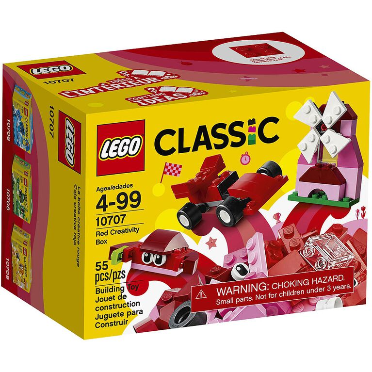 LEGO Classic Red Creativity Box 10707