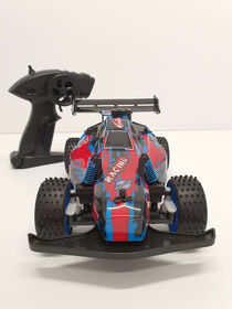 RC 1:18 Dirt Buggy Blue/Red - R Exclusive