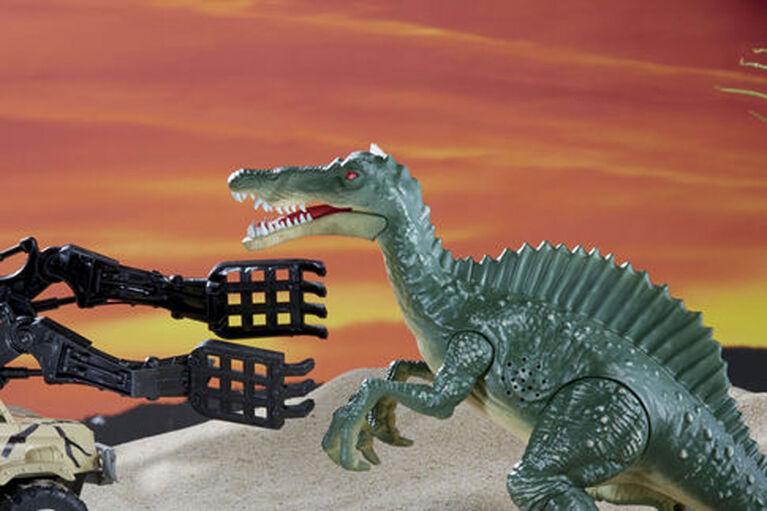 Animal Planet - Ensemble de jeu géant mirador et spinosaure - Notre exclusivité