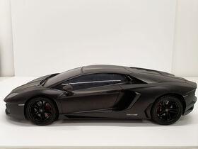 1:10 Lamborghini Aventador Coupe Black Remote Control Car - English Edition - R Exclusive