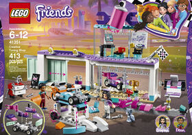 LEGO Friends L'atelier de customisation de kart 41351.