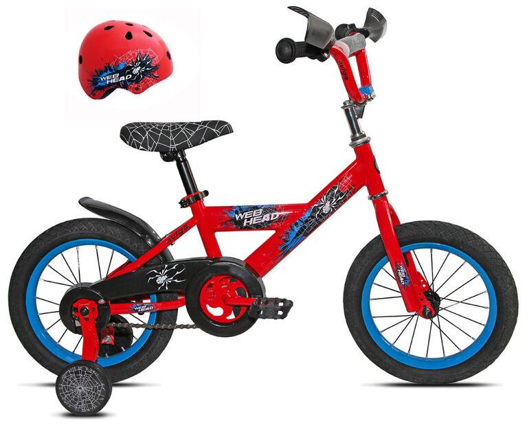Avigo - Vélo Webhead 14 po avec casque - Notre exclusivité