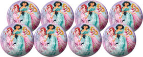 8 Pack Playball with Pump 4 inch Princess