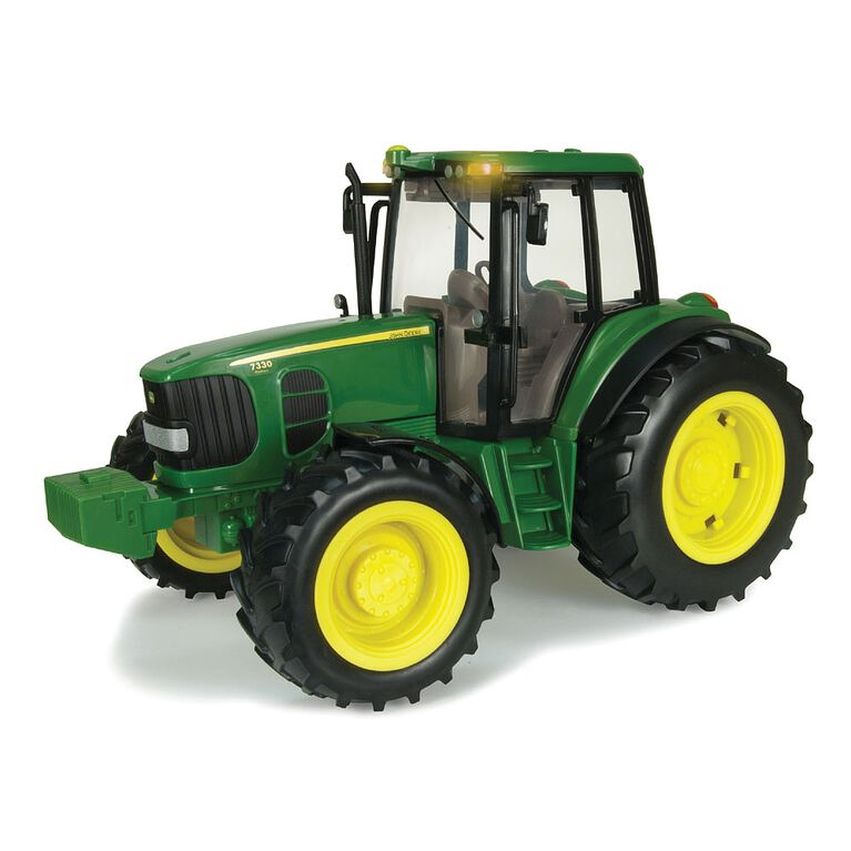 John Deere - 1:16 Scale Big Farm Lights N Sounds 7330 Tractor