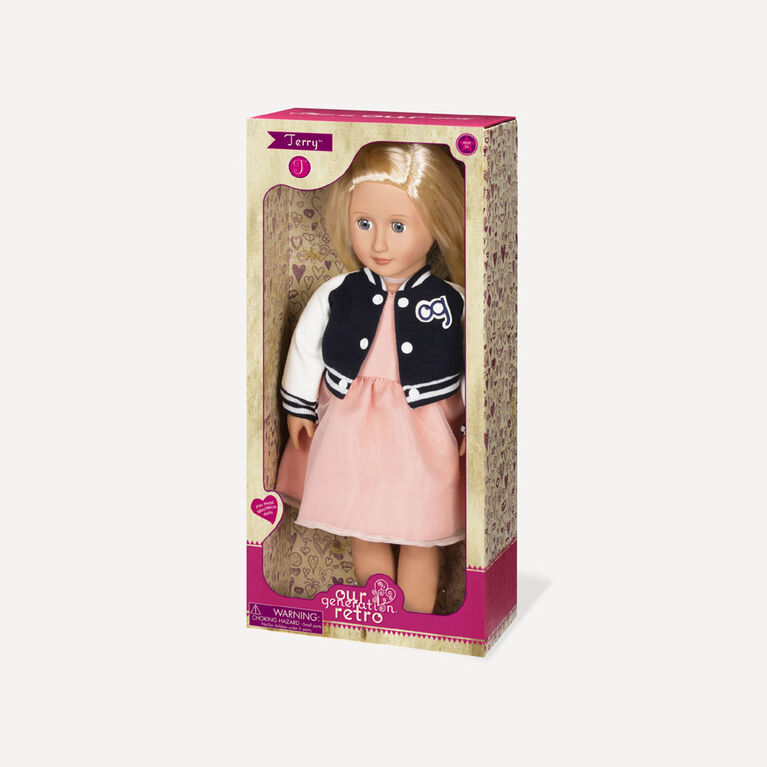 Our Generation, Terry, 18-inch Retro Doll