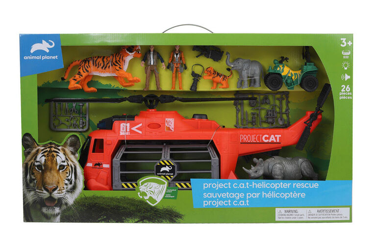 Animal Planet - Sauvetage par hélicoptère Project CAT - Notre exclusivité