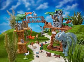 Animal Planet - Ensemble Cabane safari dans un arbre
