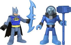 Imaginext DC Super Friends Batman and Mr. Freeze - English Edition