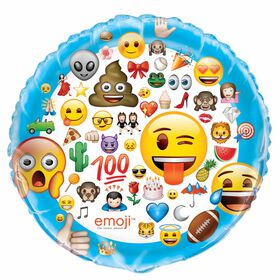 Emoji Ballon Aluminum 34 Po - En Paquet