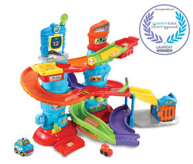 VTech® Go! Go! Smart Wheels® Launch & Chase Police Tower™ - French Edition
