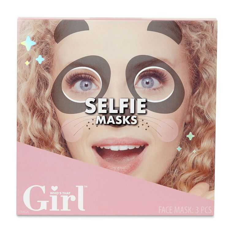 Who''''s That Girl Selfie Masks