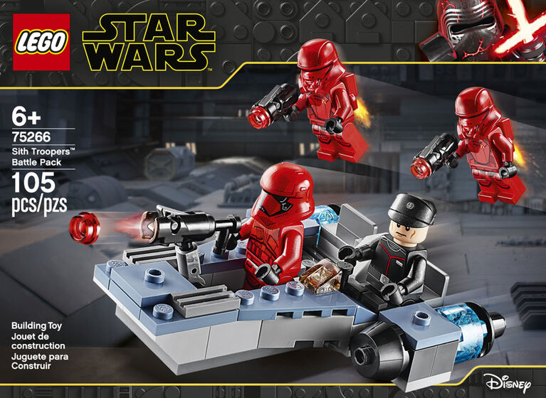 LEGO Star Wars TM Coffret de bataille Sith Troopers 75266