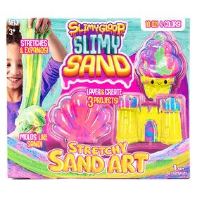 Art de sable élastique marbré de SLIMYGLOOP®SLIMYSAND™