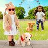 Poupée 46cm avec chien-guide en peluche, Marlow, Our Generation
