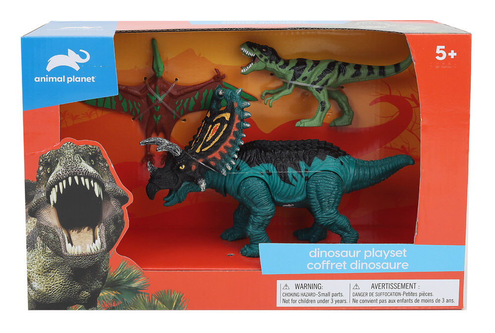 5-Pack Animal Planet Dino Discovery Play Set