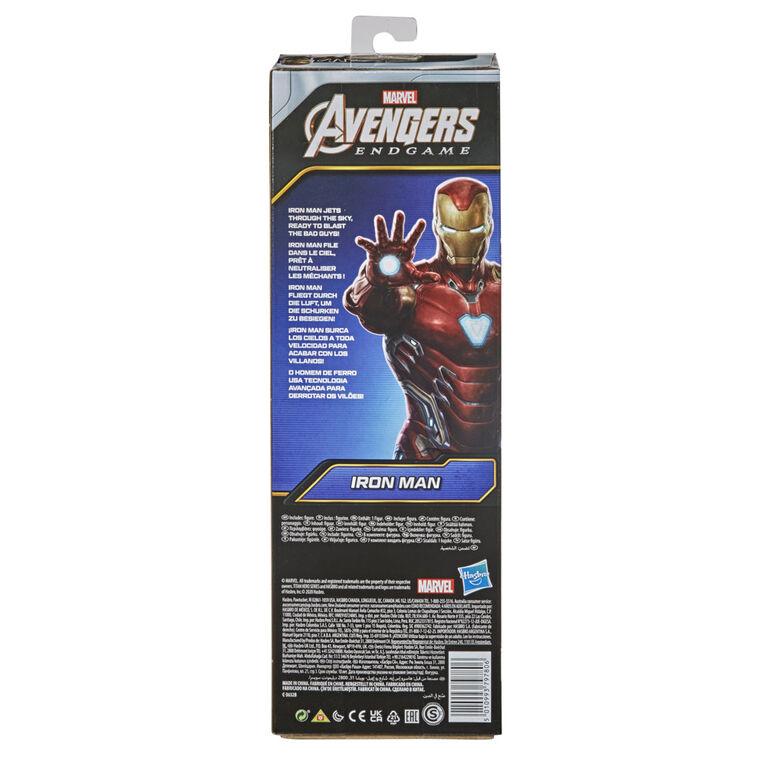 Marvel Avengers Titan Hero Series Collectible 12-Inch Iron Man Action Figure