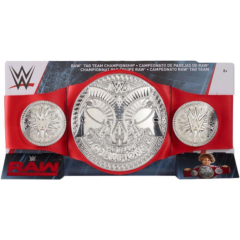 WWE Raw Tag Team Championship Title Belt
