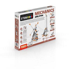 Engino - Stem Mechanics: Pulley Drives