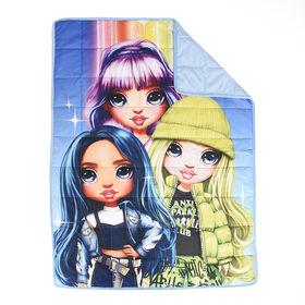Couverture lestée pour enfants Rainbow High (36 x 48 pouces), 5 lbs