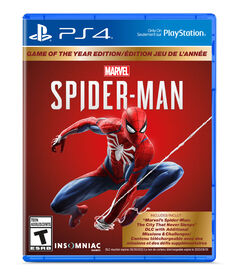 PlayStation 4 Spiderman GOTY