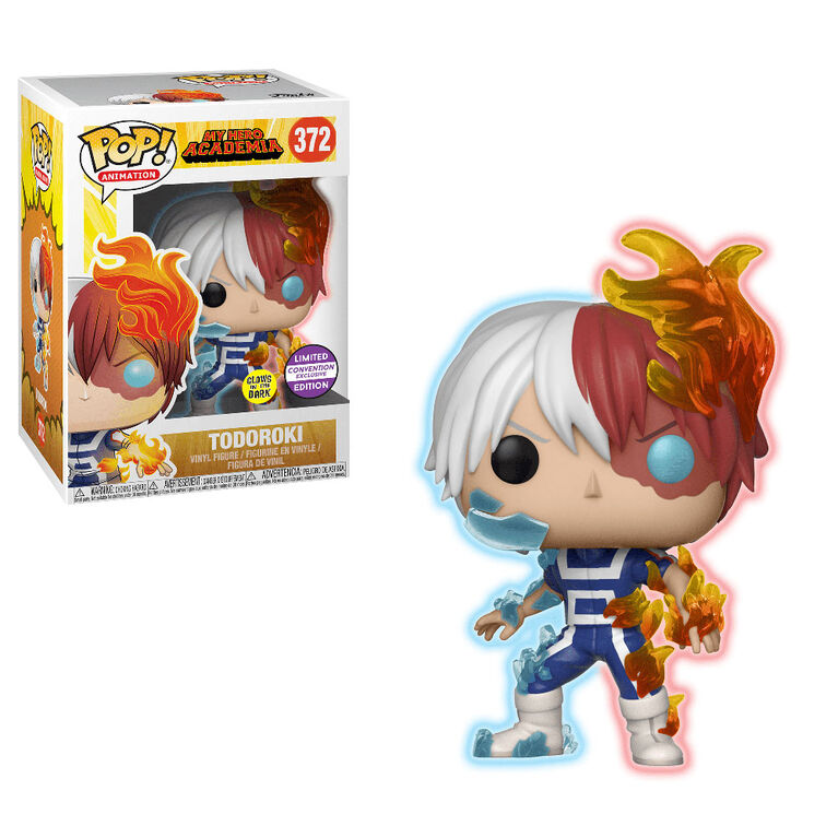 Funko POP! Animation: My Hero Academia S4 - Todoroki - Glows in the Dark