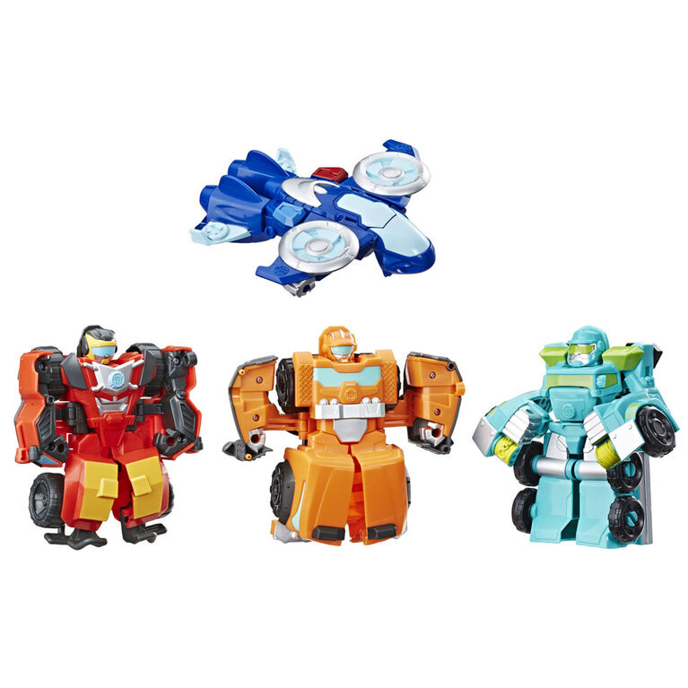 Playskool Heroes Transformers Rescue Bots Academy - Academy Rescue Team Pack