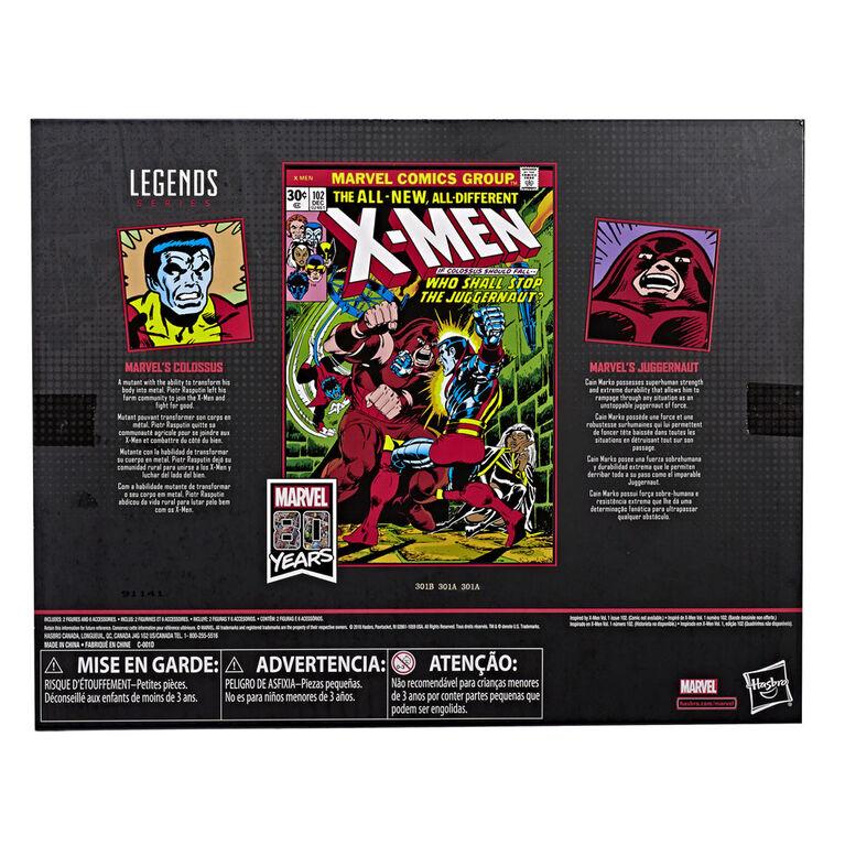 Marvel Comics 80th Anniversary Legends Series: Colossus Vs. Juggernaut 2-Pack