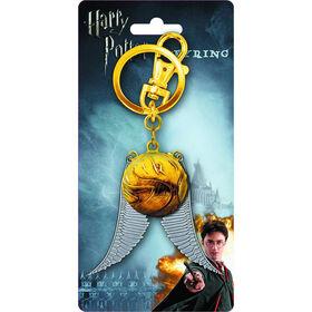 Harry Potter Golden Snitch Porte-Clés En Étain.