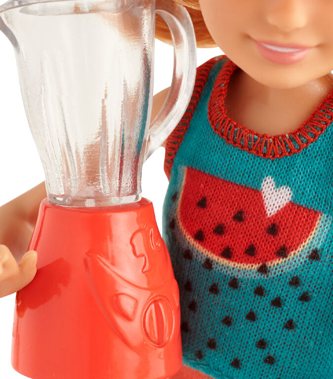 Barbie Sisters Stacie Doll Smoothie Set