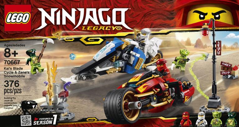 LEGO Ninjago La moto de Kai et le scooter des neiges 70667
