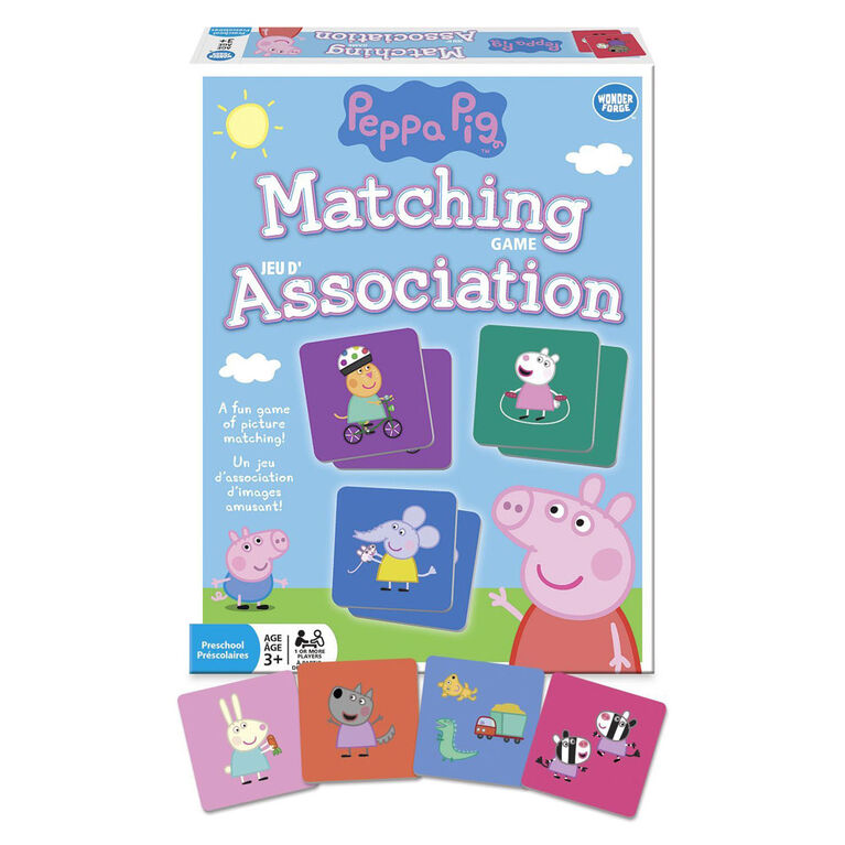 Wonder Forge: Peppa Pig Matching Game