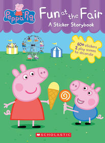 Peppa Pig Fun at the Fair: A Panorama Sticker Storybook