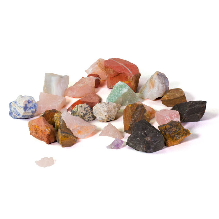 National Geographic Rock Tumbler Refill Pack - Gemstones - Édition anglaise