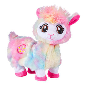 Pets Alive - Rainbow Bonnie the Booty Shakin Llama Battery-Powered Dancing Robotic Toy